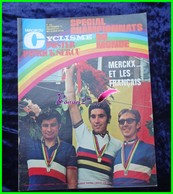 Revue Le MIROIR DU CYCLISME- N° 192  Septembre 1974 - Merckx Et Les Français Poster Patrick Sercu - Sport