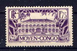 CONGO - 129A* - INSTITUT PASTEUR DE BRAZZAVILLE - Congo Francés (1891-1960)
