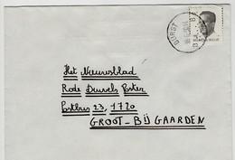 Poststempel  BURST B.....B  Op Opc.nr 2352 - Marcofilia