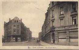 ESCH-ALZETTE  -  RUE ADOLPHE EMILE   E.A.SCHAACK,LUXEMBOURG  2 Scans - Cartes Postales