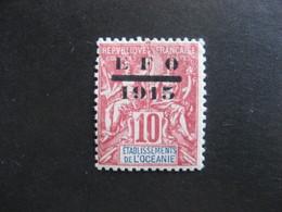 Etabl. De L'OCEANIE: TB N° 38, Neuf X. - Oceanía (1892-1958)