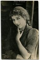 CARTOLINA ATTRICE MARY PICKFORD IN PASSEROTTI ACTRESS METRO GOLDWYN - Attori