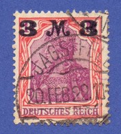 Deutsches Reich 1921 Germania 3 Mark MiNr. 155 I A O Geprüft St - JAGSTFELD - Used Stamps