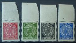 GUYANE - MNH - YT TT 22-25 - Timbres Taxe - Nuevos