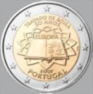 Portugal 2007    2 Euro Commemo  Verdrag Van Rome .      UNC Uit De Rol  UNC Du Rouleaux  !! - Portugal