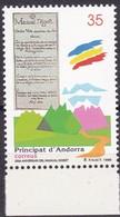 Andorra, Sp.,1998,  260, Manual Digest.  MNH **, - Unused Stamps