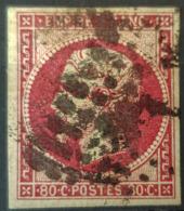 COLONIES FRANCAISES - Canceled - YT 10 - 80c - Napoléon III