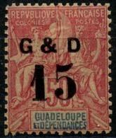 Guadeloupe (1903) N 47 * (charniere) - Nuevos