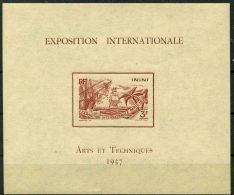 Inini (1937) Bloc Feuillet 1 * (charniere) - Inini (1932-1947)