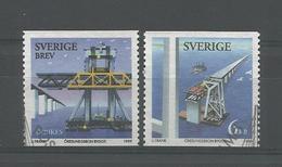 Sweden 1999 Oresund Bridge Y.T. 2094/2095 (0) - Oblitérés