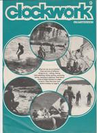 Revue CLOCKWORK 9 En Anglais 8 Pages En 1977 An MGP Magazine Series 4 - Culture
