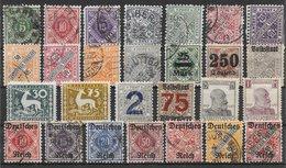 Wurtemberg Service Lot De 27 Tp 1875-1920 **, *, (*), O - Wurttemberg