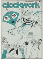 Revue CLOCKWORK 8 En Anglais 8 Pages En 1977 An MGP Magazine Series 4 - Culture