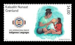 Greenland 2019 Mih. 831 International Year Of Indigenous Languages MNH ** - Ungebraucht