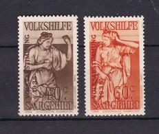 Saarland - 1934 - Michel Nr. 199/200 - Postfrisch - 20 Euro - 1920-35 Société Des Nations