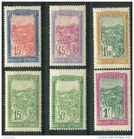Madagascar (1927) N 156 à 161 * (charniere) - Madagascar (1889-1960)
