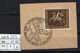 Los D393: DR Mi. 671, Gest. SST - Deutschland