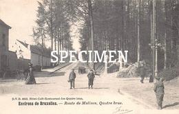 DVD 8653 -  Route De Malines Quatre Bras - Genappe