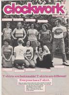 Revue CLOCKWORK 6 En Anglais 8 Pages En 1977 An MGP Magazine Series 4 - Culture