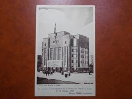 Carte Postale  - CALAIS (62) - Inauguration De La Bourse Du Travail 15 Octobre 1939 (3335) - Calais
