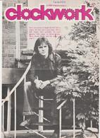Revue CLOCKWORK 5 En Anglais 8 Pages En 1977 An MGP Magazine Series 4 - Culture