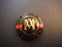 Plaque De Muselet Crémant D'Alsace Arthur Metz - Mousseux