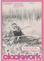 Revue CLOCKWORK 4 En Anglais 8 Pages En 1976 An MGP Magazine Series 4 - Culture