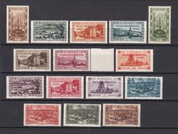 Saarland - 1934 - Michel Nr. 179/193 - Ungebr. - 1920-35 Société Des Nations