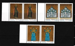 1988 Vaticano Vatican MILLENNIO KIEV 2 Serie Di 3v. MNH** - Ongebruikt