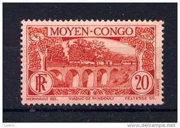 CONGO - 119* - VIADUC DE MINDOULI - Congo Francés (1891-1960)