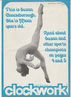Revue CLOCKWORK 1 En Anglais TRES BON ETAT 8 Pages En 1976 - Culture