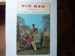 BIG BEN Supérieur - Revue N°61 - Septembre 1969 - English Language/ Grammar