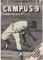 Revue CAMPUS 9 En Anglais 16 Pages En 1981 An MGP Magazine Series 6 - Culture