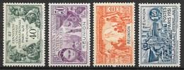 REUNION : SERIE EXPOSITION 1931 N° 119/122 NEUVE * GOMME AVEC CHARNIERE - TRES FRAIS - La Isla De La Reunion (1852-1975)