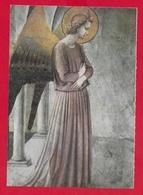 CARTOLINA VG ITALIA - L'ANNUNCIAZIONE - Particolare Dell'Angelo - Beato Angelico - 10 X 15 - 1968 - Pittura & Quadri