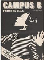 Revue CAMPUS 8 En Anglais 16 Pages En 1981 An MGP Magazine Series 6 - Culture