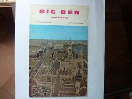 BIG BEN Supérieur - Revue N°64 - Janvier 1970 - Langue Anglaise/ Grammaire