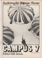 Revue CAMPUS 7 En Anglais JOHN TRAVOLTA 16 Pages En 1981 MGP Magazine Series 6 - Culture