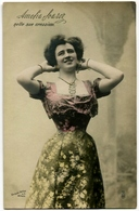 CARTOLINA CANTANTE LIRICA AMELIA SOAREZ OPERA FOTO VARISCHI ARTICO MILANO - Opera