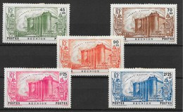 REUNION : SERIE BASTILLE REVOLUTION N° 158/162 NEUFS * GOMME AVEC CHARNIERE - La Isla De La Reunion (1852-1975)