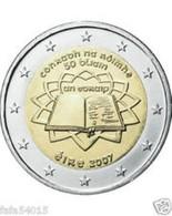 Ierland 2007     2 Euro Commemo Verdrag Van Rome  UNC Uit De Zakjes  UNC Du Sackets  !! - Irlande