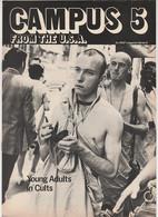 Revue CAMPUS 5 En Anglais Woody ALLEN 16 Pages En 1980 An MGP Magazine Series 6 - Culture