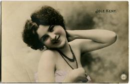 FOTO CARTOLINA ATTRICE JOLE KENT ACTRESS - Attori