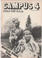 Revue CAMPUS 4 En Anglais Eric HEIDEN 16 Pages En 1980 An MGP Magazine Series 6 - Culture