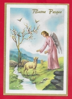 CARTOLINA VG ITALIA - BUONA PASQUA - Angelo Pastore - P. Ventura - Ediz. Rinup. - 10 X 15 - 1963 - Pasqua