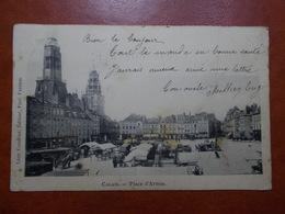 Carte Postale  - CALAIS (62) - Place D'Armes - MARCHE (3350) - Calais