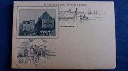 CPA LEEUWARDEN NEDERLANDSCHE BRIEFKAARTEN PHOTO DESSIN - Leeuwarden
