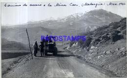 118488 ARGENTINA MENDOZA MALARGÜE CAMINO TRACTOR YEAR 1946  17 X 10 CM PHOTO NO POSTAL POSTCARD - Fotografie