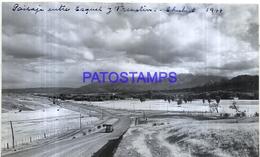 118490 ARGENTINA CHUBUT PAISAJE ENTRE ESQUEL Y TREVELIN AÑO 1944 16.5 X 10 CM PHOTO NO POSTCARD - Fotografie
