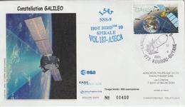 France Kourou 2009 Lancement Ariane Vol 187 - Storia Postale